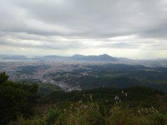 皿倉山から見る門司方面