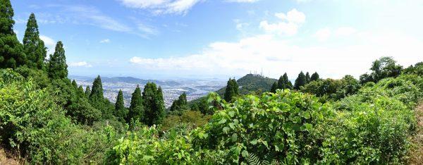 権現山でのパノラマ写真